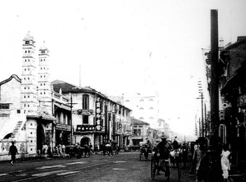 大坡大马路,可能摄于1920年代